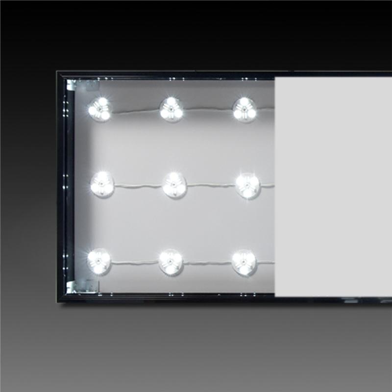 厚100mm電飾壁面看板