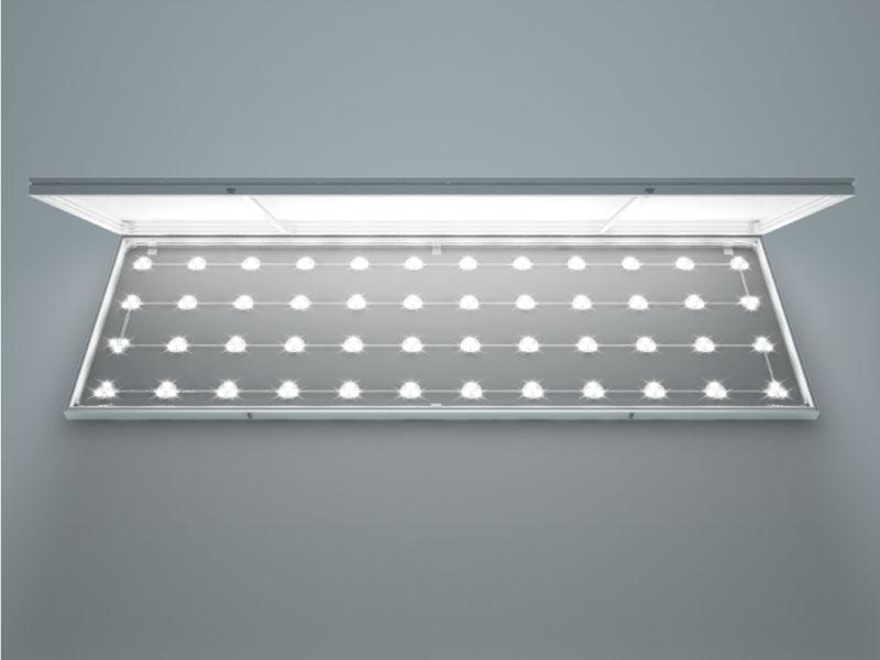 厚115mm電飾壁面看板