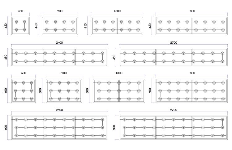 115LED開閉式FFシート壁面看板